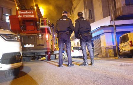 Das Feuer brach in Palmas Problemviertel Pere Garaus aus.