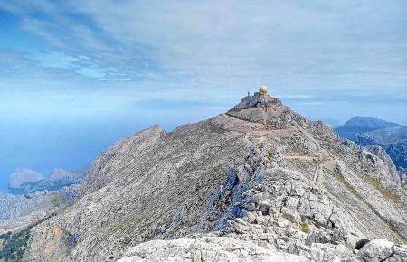 Der Puig Major ist 1445 Meter hoch.