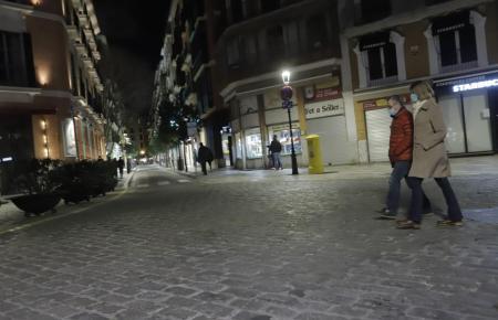 Die Ausgangssperre auf Mallorca beginnt weiterhin ab 22 Uhr.