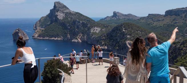 Der berühmte Colomer-Aussichtspunkt auf Mallorca.