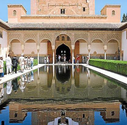 Das Bauwerk gehört zu den Wahrzeichen Spaniens.
