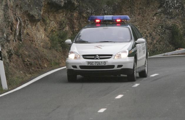 Die Guardia Civil muss die Unfallursache herausfinden.
