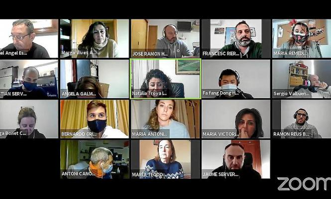 Virtuelle Sitzung des Gemeinderats von Son Servera.