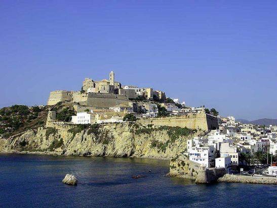 Blick auf Ibiza-Stadt.