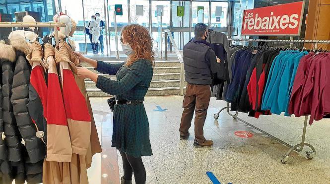 Die Einkaufszentren sollen vom Winterschlussverkauf profitieren.