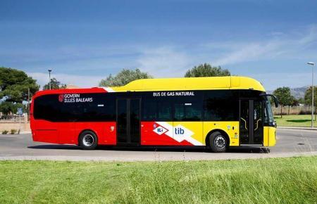 Neuer TIB-Bus auf Mallorca.