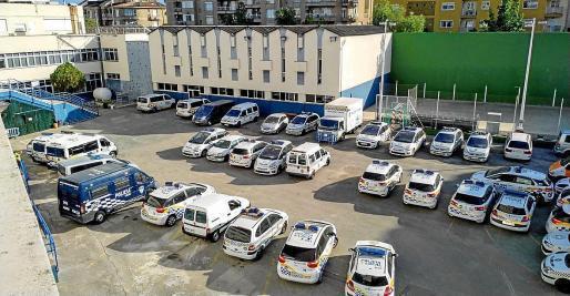 Viele Polizeiautos sind nicht mehr auf dem neuesten Standart.