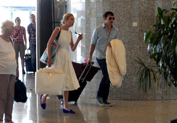 James Blunt und Sofia Wellesley haben 2014 auf Mallorca geheiratet, danach ging es zum Feiern nach Ibiza.