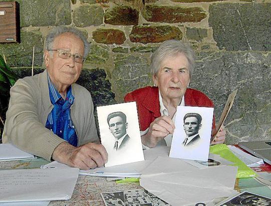 Die Franco-Opfer Julen und Elisa Kalzada.
