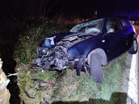 An den geparkten Autos entstand großer Sachschaden.