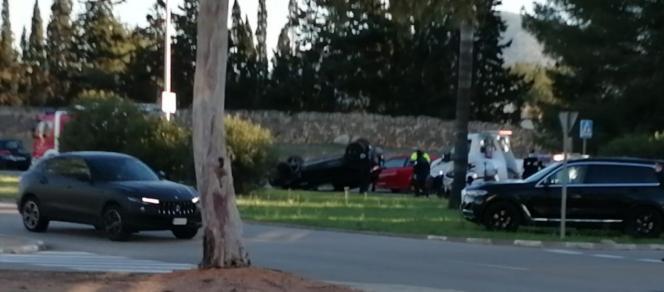 Der Unfall ereignete sich in der Avenida de Golf.