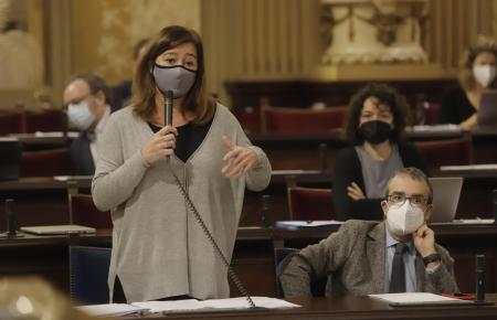 Die Ministerpräsidentin der Balearen Francina Armengol hat auf die Bewegung SOS-Tourismus reagiert: mit Verständnis.