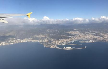 So sieht Palma aus der Ferne aus.