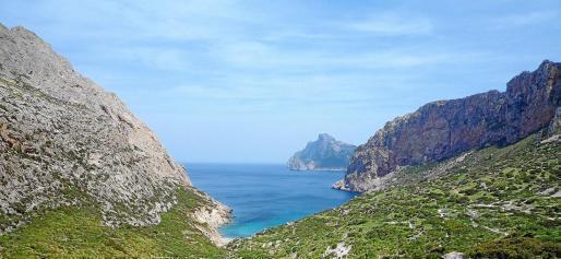 Die Cala Boquer im Gemeindegebiet von Pollença zieht jedes Jahr mehr Wanderer und Badegäste an.