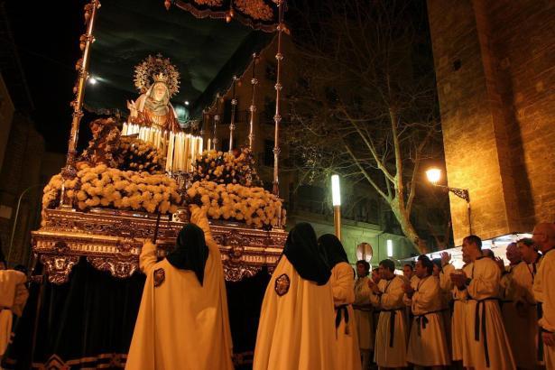 Die traditionelle Osterprozession in Palma wurde abgesagt.