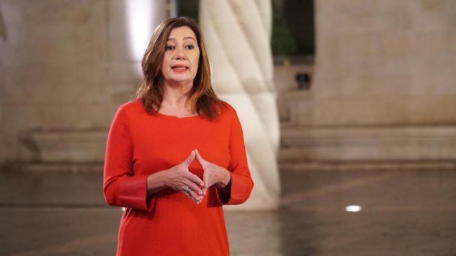 Balearen-Präsidentin Francina Armengol befindet sich derzeit für Gespräche in Madrid.