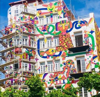 Das Hotel Armadas in Palma wurde mit einem Kunstwerk versehen.