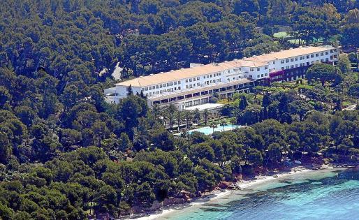 Das Hotel Formentor: Schon die Altbesitzer hatten den Bau deutlich erweitern wollen. Ein Gericht untersagt dies 2016.