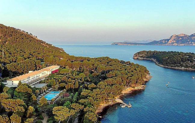 Das Hotel Formentor liegt im Norden von Mallorca.