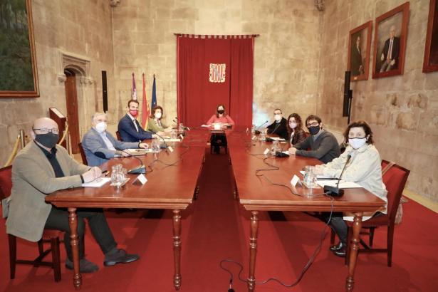 Kabinettssitzung in Palma.