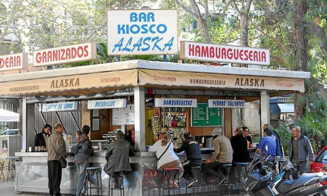 """Spanien pur: die Imbissbude """"Alaska""""."""