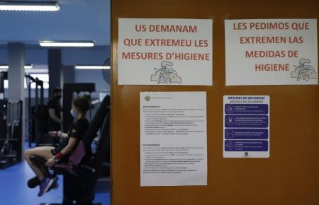 Fitnessräume dürfen mit einer Personenkapazität von 30 Prozent öffnen.
