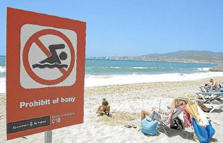 Die Abwasserprobleme an der Playa de Palma sollen bald Vergangenheit sein.