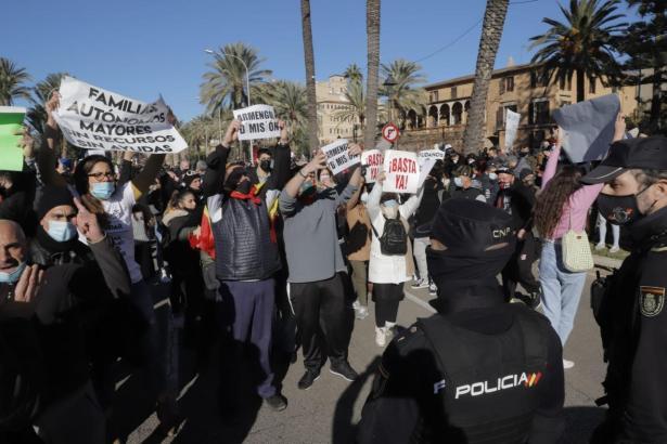 Die Balearen-Regierung hat die geplante Demo für den 1.März genehmigt.