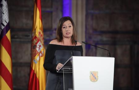 Die Ministerpräsidentin der Balearen Francina Armengol setzt neben dem Tourismus auf weitere Wirtschaftszweige auf den Balearen.