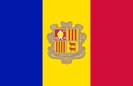 Der Ministaat verfügt auch über eine eigene Fahne.