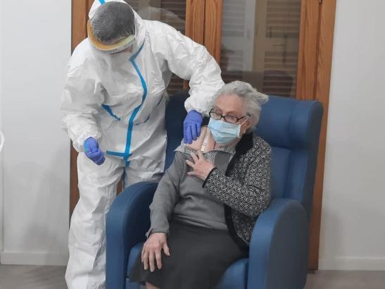 Rund 90 Prozent der Bewohner in Seniorenheimen auf den Balearen sind bereits geimpft.