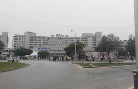 Blick auf das ehemalige Krankenhaus Son Dureta.