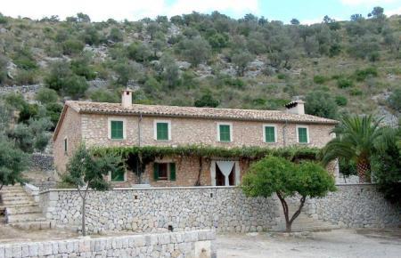 Wanderhütte auf Mallorca.