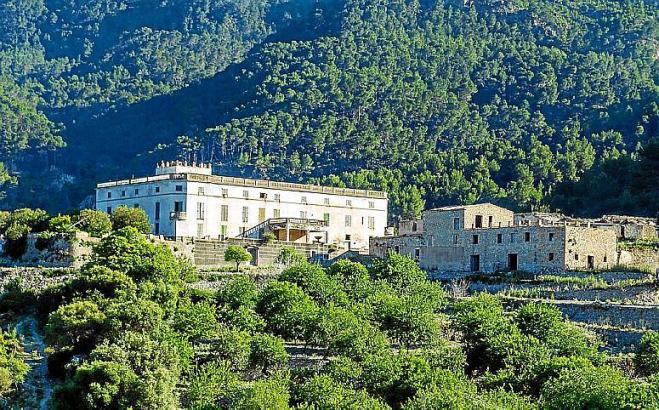 Das 251-Hektar-Anwesen liegt in den Bergen zwischen Banyalbufar und Port des Canonge im Tramuntana-Gebirge.