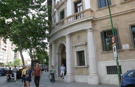Blick auf das Gerichtsgebäude in Palma.