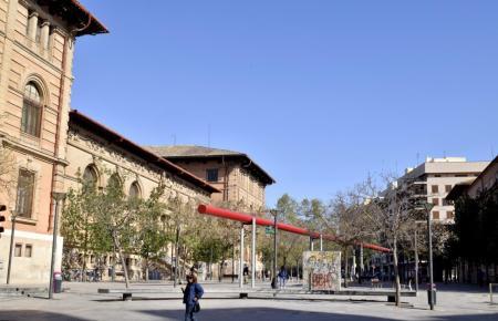 Auf der Plaça de Tubo in Palma sollen sich die Ereignisse zugetragen haben.