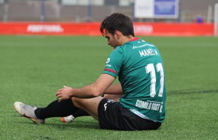 Manel Martínez erzielte für Atlético Baleares die 1:0-Führung in Las Rozas.