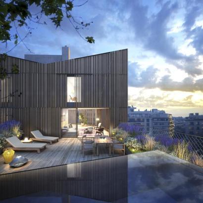 Sogar Fotomontagen von der Immobilie wurden veröffentlicht.