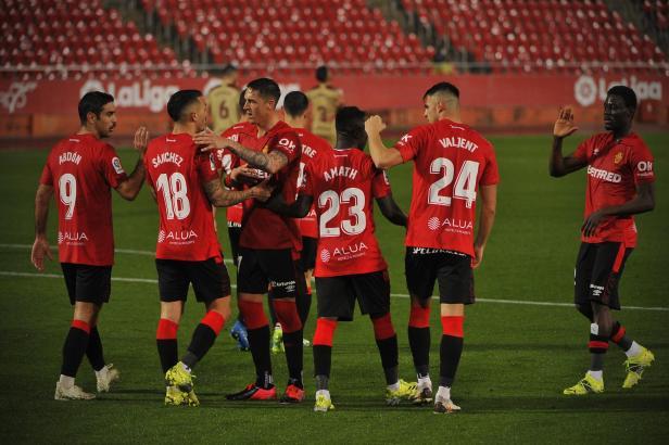 Bei Real Mallorca konnte auch gegen Cartagena wieder gejubelt werden.