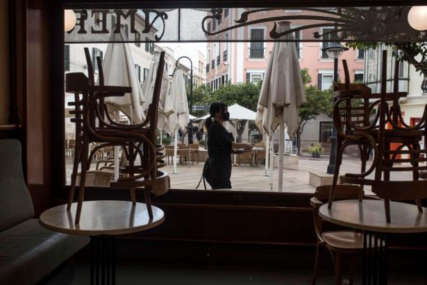 Seit vielen Wochen sind die Restaurant-Innenräume geschlossen.