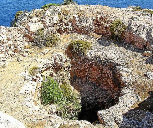 Die Coves Blanques in Pollença haben eine Tiefe bis zu drei Meter.