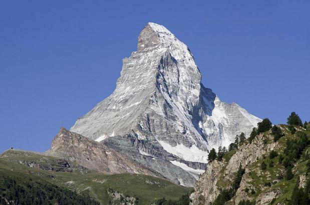 Blick auf das Matterhorn.