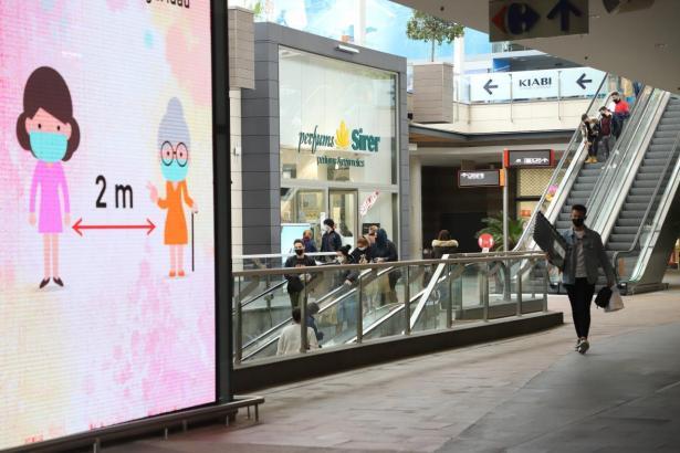 Ab dem 13. März dürfen Einkaufszentren auch wieder an Samstagen öffnen.
