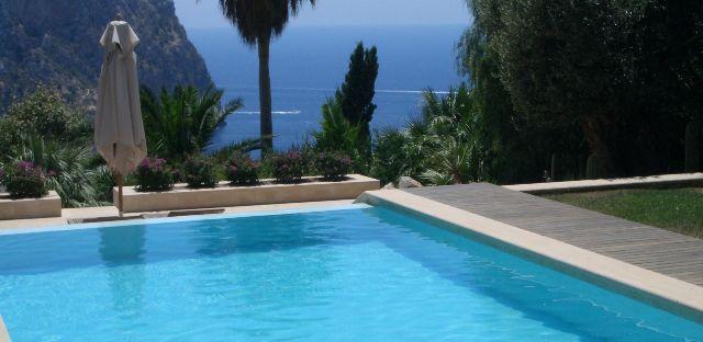 Ferienimmobilie auf Mallorca mit verlockender Aussicht.