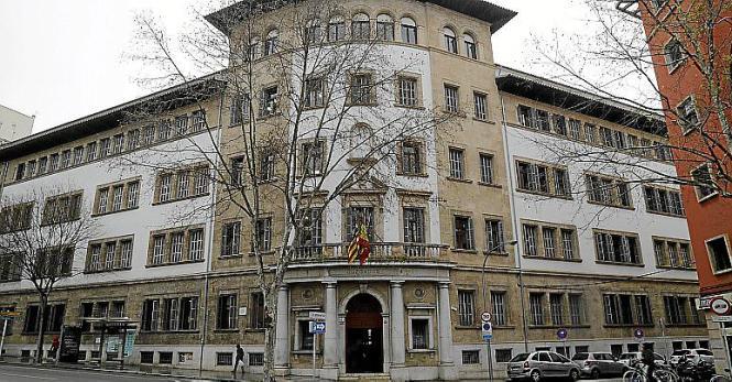 Das Justizgebäude Palmas an der Vía Alemania: Hier wurde der 27-Jährige verurteilt.
