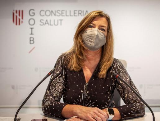 Gesundheitsminsietrin Patricia Gómez.