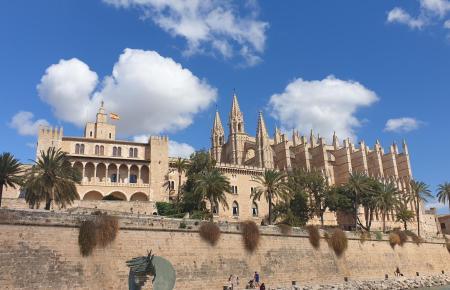 Die Kathedrale von Palma.