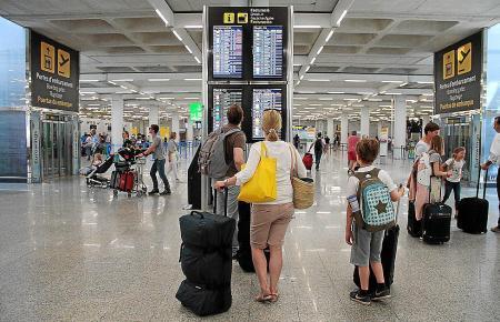 Am Flughafen von Palma de Mallorca herrscht seit diesem Wochenende wieder mehr Betrieb.