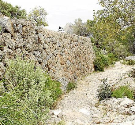 Die Zufahrtsstraße zum Camí del Castell (Foto) in Alaró soll sicherer werden.