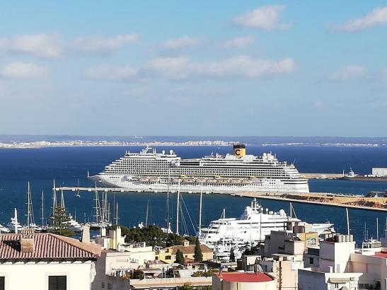 Kreuzfahrtschiffe sollen ab Mai wieder in Palma anlegen.